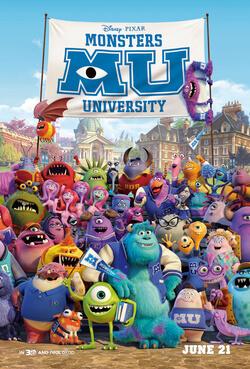 Movie Monsters University
